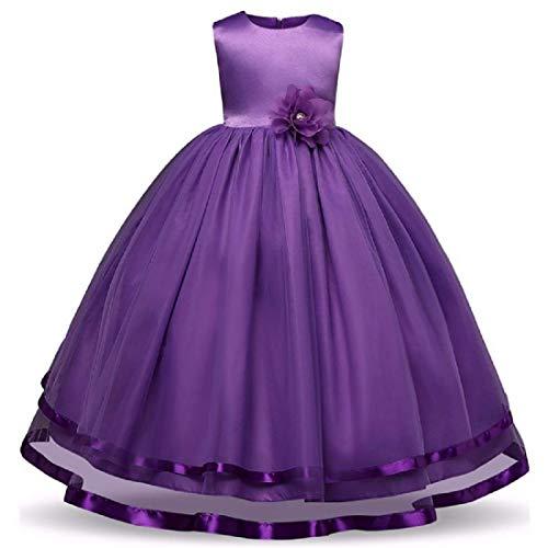 41lFGUfnyOL. SS500  - Alisha Moda Girl's Satin Gown Dress