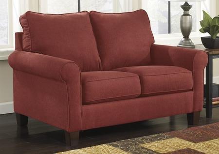Cherry Fabric Sofa - 7