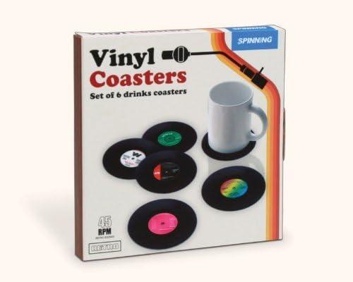 zimo/® 6PCS Dessous de Verre Vinyle
