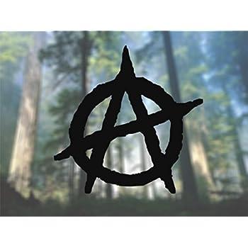 AK Wall Art Anarchy - Vinyl Decal - Car Phone Helmet - Select Size