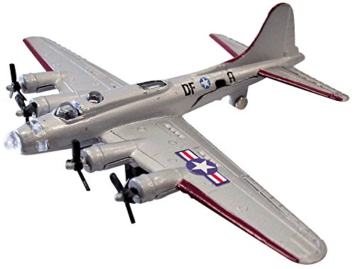 "(InAir Diecast 4.5"" B-17 Flying Fortress Silver)"