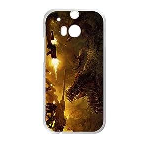 JIANADA Creative Dinosaur Battle Hot Seller High Quality Case Cover For HTC M8