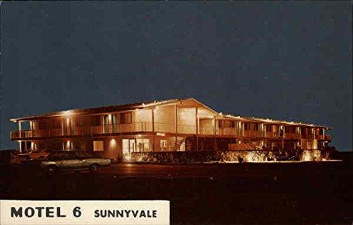 motel-6-sunnyvale-california-original-vintage-postcard