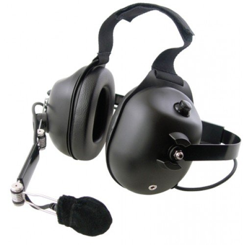 Head Emb - Pryme HDS-EMB dual muff high noise Behind-the-head headset (Requires K-Cord)