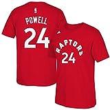 Toronto Raptors Norman Powell NBA Name & Number T-Shirt - Red