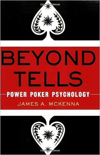 Beyond Tells: Power Poker Psychology