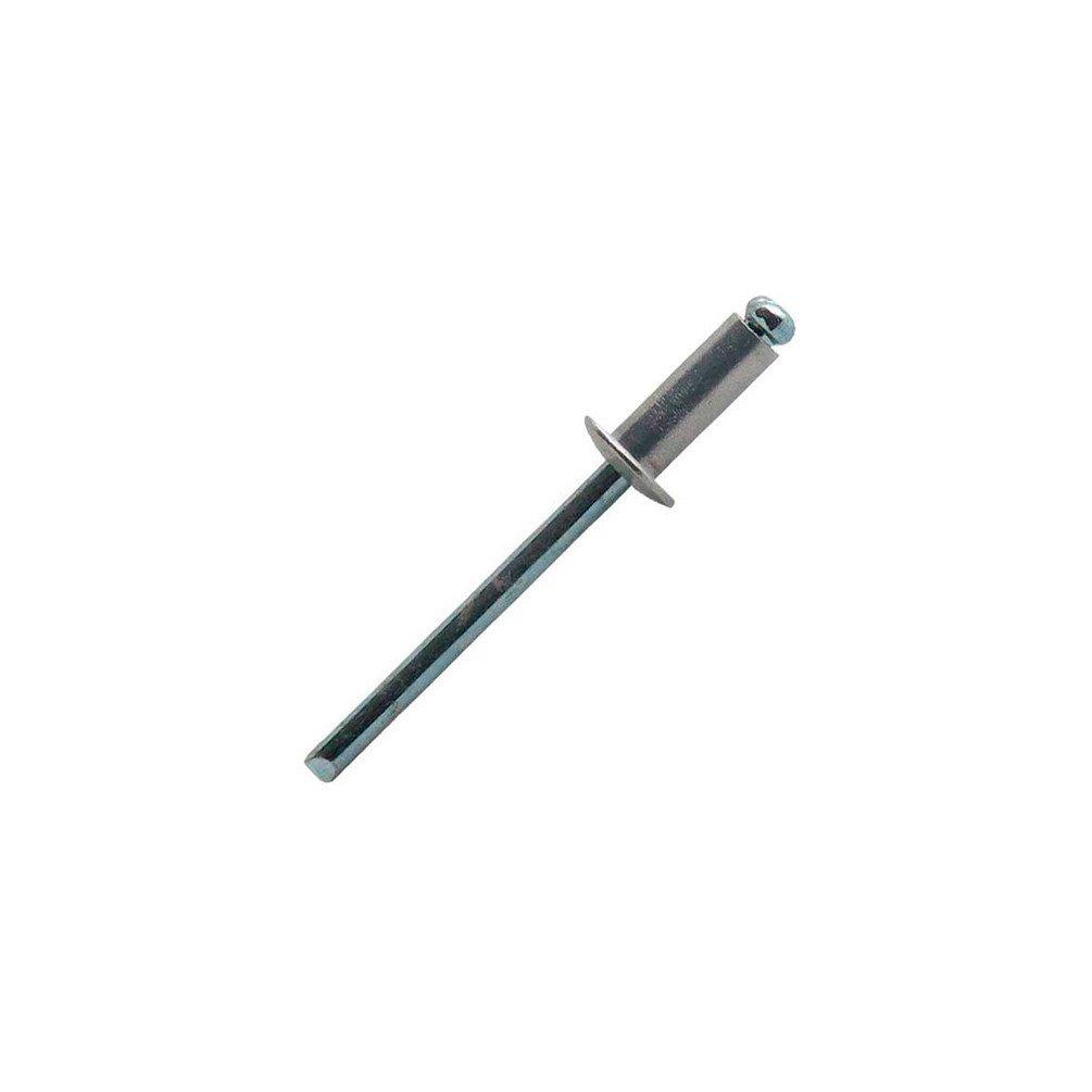 Rivet alu et acier tete plate Long Cond..500 mm.10 Scell-it /Ø mm.3,2