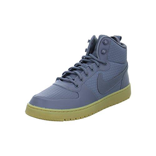 Nike Men's Court Borough Mid Winter Shoe Dark Grey/Hyper Crimson Size 13 M US (Men Nike Basketball Shoes Hyper)