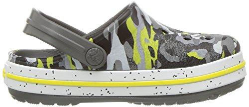 Crocs Unisex-Kids Crocband Camo Speck K Clog, Graphite/Camo, 12 M US Little Kid by Crocs (Image #7)