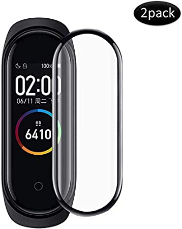 Image ofPkila Protector de Pantalla para Xiaomi Mi Smart Band 5 Protector Cobertura Completa [Alta Definición][Fácil de Instalar] HD Transparente Suave Protectora para Xiaomi Mi Smart Band 5