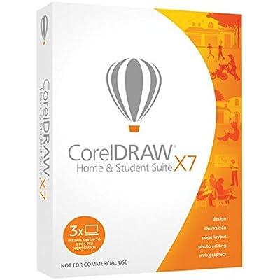 Corel DRAW Home & Student Suite X7 - Software de gráficos (Caja, PC, Athlon, Core 2 Duo, 1280 x 768 Pixeles, Windows 7 Home Basic, Windows 7 Home Basic x64, Windows 7 Home Premium, Windows 7 Home Premium x64, , Microsoft Internet Explorer 8)