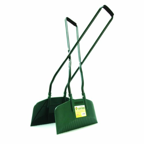 Bosmere N450 Long Handle Steel Leaf Grabs With 16-Inch Plastic Blades
