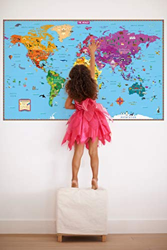 Kids' Illustrated Map of