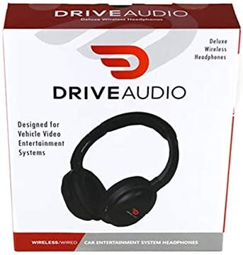 Wireless Headset Drive Audio Rechargeable Headphones Compatible with Nissan /& Infiniti
