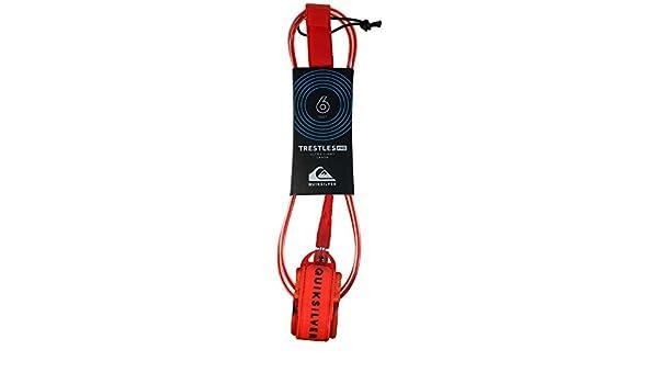 Quiksilver Trestles Pro 6 - Correa para Tabla de Surf, Color Rojo: Amazon.es: Deportes y aire libre