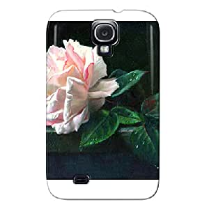Photography White Rose For Gisela Case Cover For Sumsang Galaxy S4