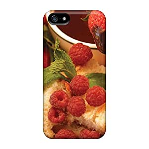 Premium Iphone 5/5s Case - Protective Skin - High Quality For Food Berries Fruits Nuts Berries In Chocolate