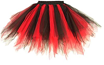 Dancina Adult Tutu 50's Vintage Petticoat Tulle Skirt for Women Regular/Plus Size w/Lining