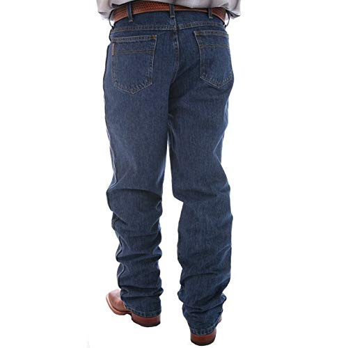 Cinch Men's Jeans Green Label Original Fit Dark Stonewash Dark Stone 30W x 32L (Cinch Mens)