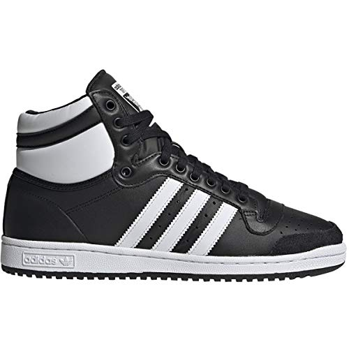 adidas Originals Men's Top Ten Hi Sneaker, FTWR White/core Black, 10 M US