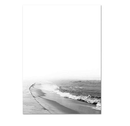 GUOXIN12 Arte Moderno de la Pared Imprime el Cartel costero ...