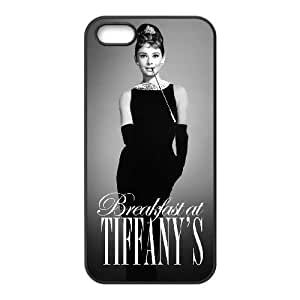Audrey Hepburn New Fashion DIY Phone Case for Iphone 5,5S,customized cover case ygtg-786700