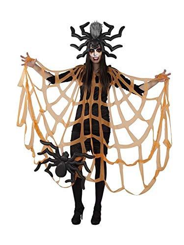 DISBACANAL Disfraz araña - Único, M: Amazon.es: Juguetes y juegos