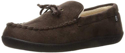 isotoner-mens-whipstitch-gel-infused-memory-foam-moccasin-dark-chocolate-x-large-11-12-m-us