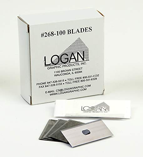 Logan Graphics 268-100 Mat Blade For Use With Logan Framers Edge Elite Series on 8 Ply Board Only ()