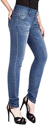 Olrain Women's Jeans High Waist Stretchy Skinny Long Pants