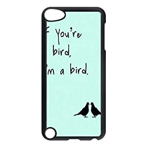 Bird Personalized Cover Case for Ipod Touch 5,customized phone case ygtg566572