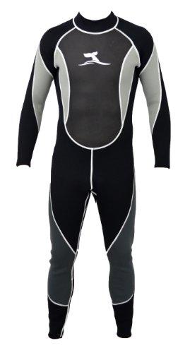 Herren 3 mm Neoprenanzug Longsuit Größe XL 52-54 Surfanzug mit Mesh Skin