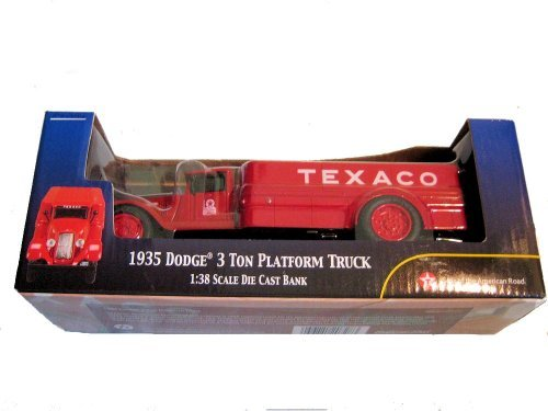 1935 Dodge 3 Ton Platform Truck Texaco Bank