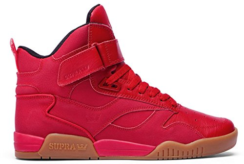 UK Gum 12 Supra Bleeker Supra Bleeker Shoes Red Shoes Red Gum q7w4Szxff