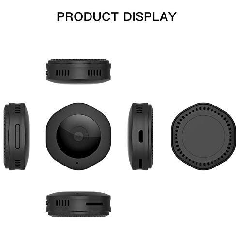 Camera Night Vision /& Motion Detection,Smart Phone ZMJY Security Hidden Spy Camera,WIFI Wireless 1080P HD Mini Spy Nanny Cam