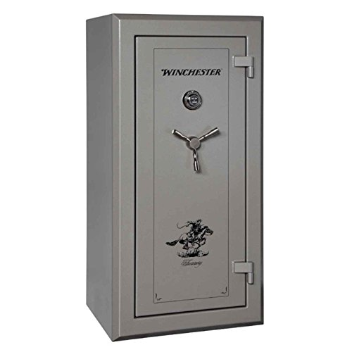 Winchester Treasury 26 Gun Safe- Elock- Grey
