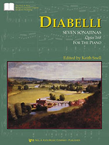 GP423 - Diabelli Seven Sonatinas, Op. 168 (The Neil A. Kjos Master Composer Library for Piano Students)