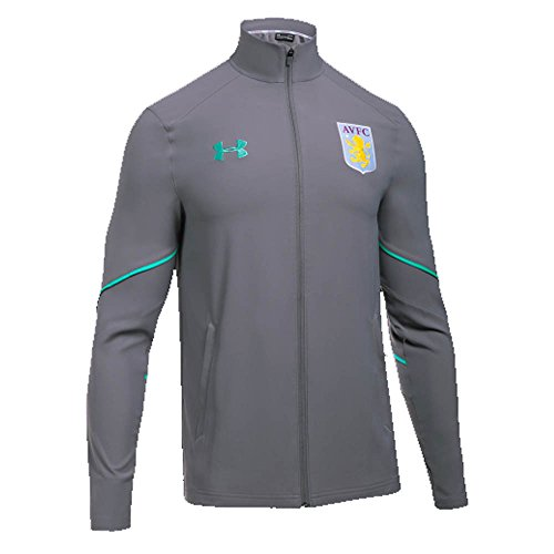 2017-2018 Aston Villa Woven Training Jacket (Graphite) Aston Villa Training
