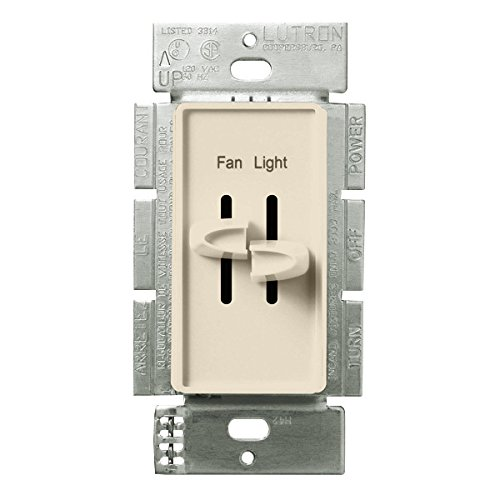 Compare Price Fan Switch With Light Dimmer On
