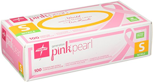 Medline-Generation-Pink-Pearl-Nitrile-Exam-Gloves-Pink-Small-100-Count
