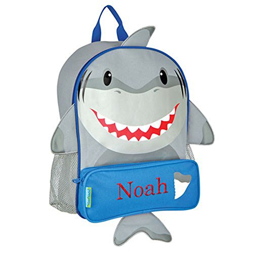 GiftsForYouNow Shark Personalized Kids Backpack -