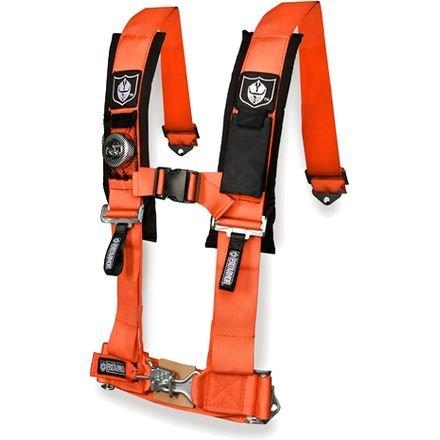Pad Pro Comfort Seat (Pro Armor Orange 4-Point Harness with 3