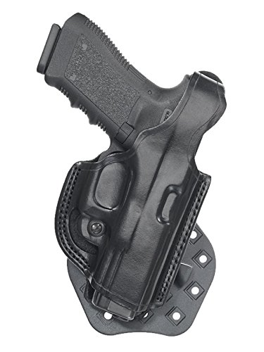 Aker Leather 268 FlatSider XR17 Paddle Holster for Beretta 92F, Black, Right Hand