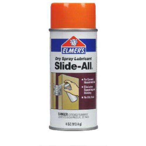 (Elmer's E450 Slide-All Dry Spray Lubricant 4-Ounce)