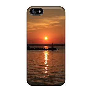 New Premium AndrewWMorton Nice Sunset Skin Case Cover Excellent Fitted For Iphone 5/5s