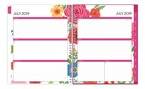 Blue Sky 2019-2020 Academic Year Weekly & Monthly Planner, Flexible Cover, Twin-Wire Binding, 8.5'' x 11'', Mahalo by Blue Sky (Image #2)