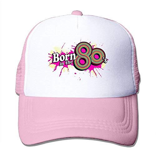 (Born in The Vintage 80s Trucker Hat Unisex Adult Baseball Mesh Cap)