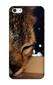 New Premium VenusLove Animal Cat Skin Case Cover Design Ellent Fitted For Iphone 5c For Lovers