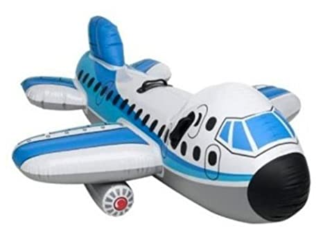 Amazon.com: Air Plane Swimming Pool Ride-on Float: Toys & Games