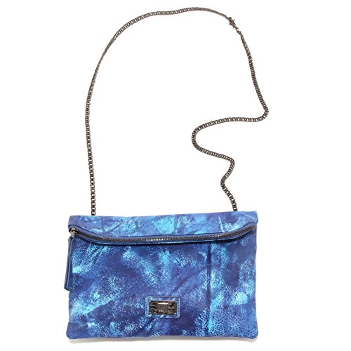 7962S borsa donna GEOX FOR VALEMOUR tracolla blu hand bag woman Blu